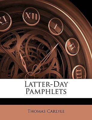Nabu Press Latter-Day Pamphlets by Carlyle, Thomas [Paperback] at Sears.com
